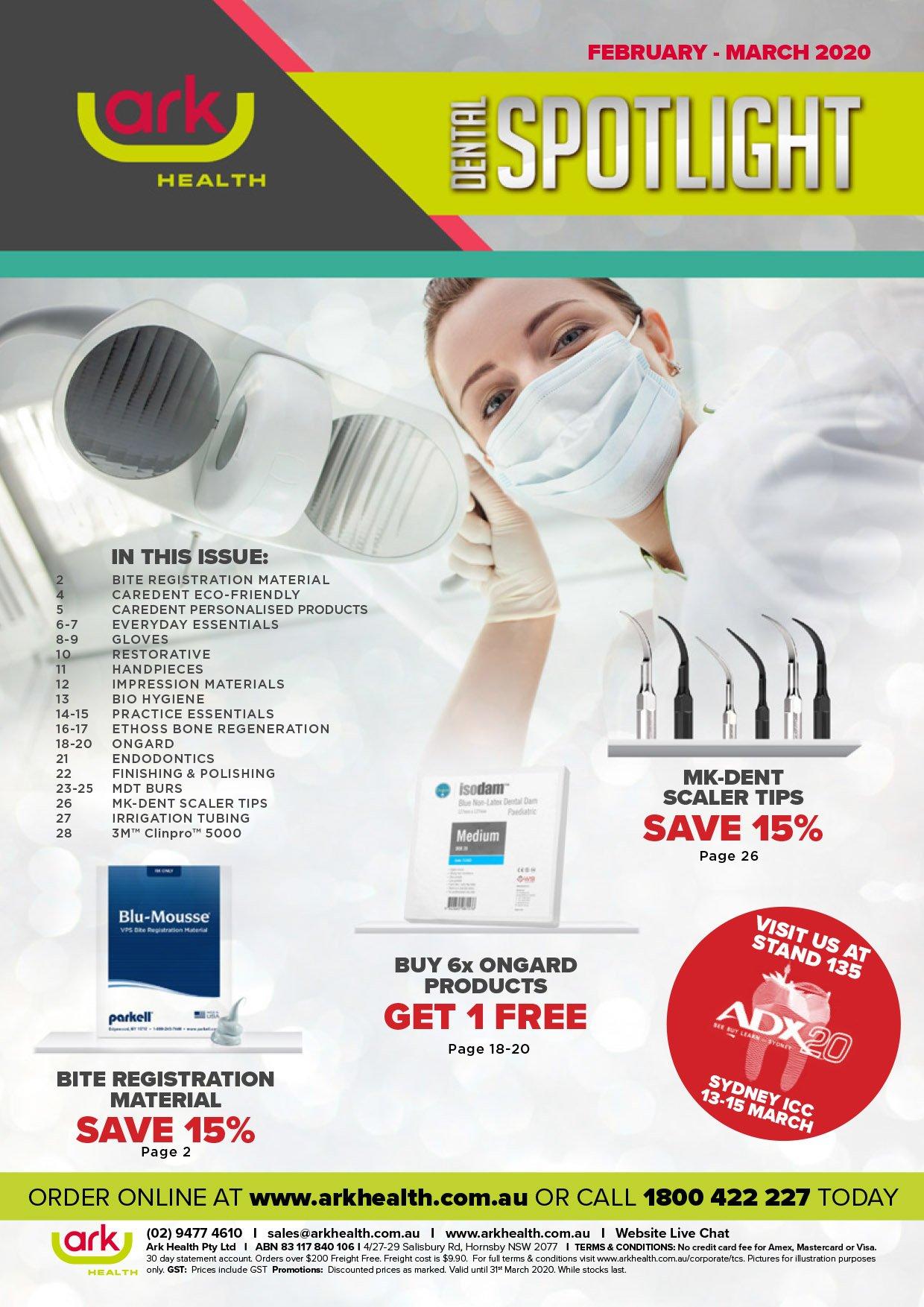 Ark Health Spotlight Dental Catalogue