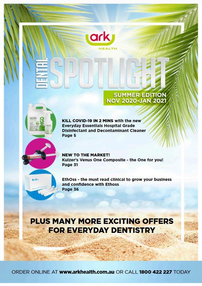 Ark Health Summer Spotlight Dental Catalogue