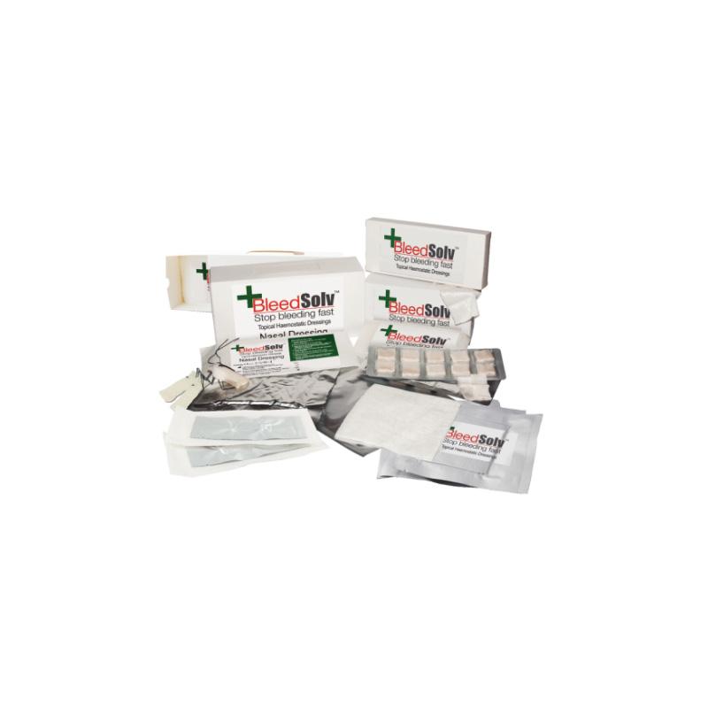 Bleedsolv Haemostatic Sterile Dental Gauze 1.9cm x 1.9cm