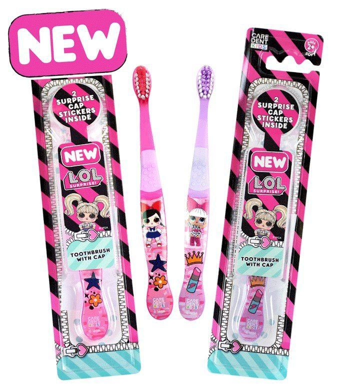 Caredent L.O.L Surprise! Soft Toothbrush