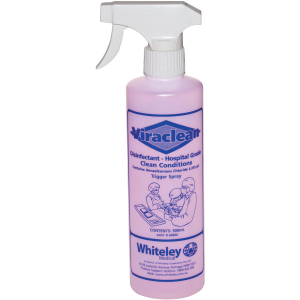 Whiteley Viraclean Trigger 500ml