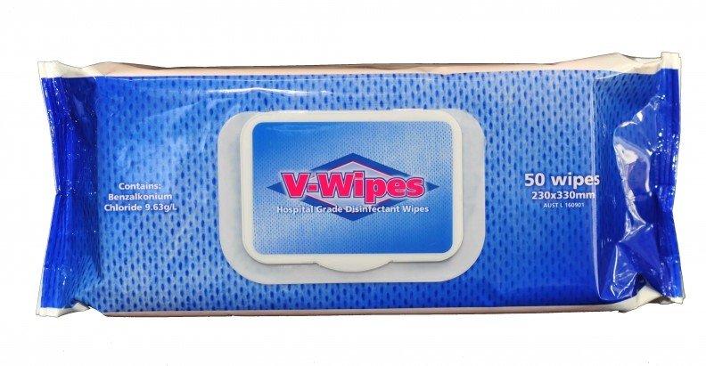 Whiteley V-Wipes Large Flat Pack