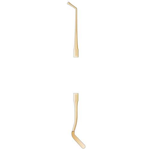 Ongard Lite-Touch Composite Instrument DEH8 Titanium Goldstein #2