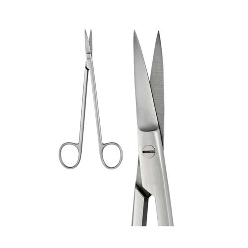 Ongard Lite-Touch Scissors Kelly Curved #16cm