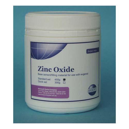 Ainsworth Zinc Oxide 450g