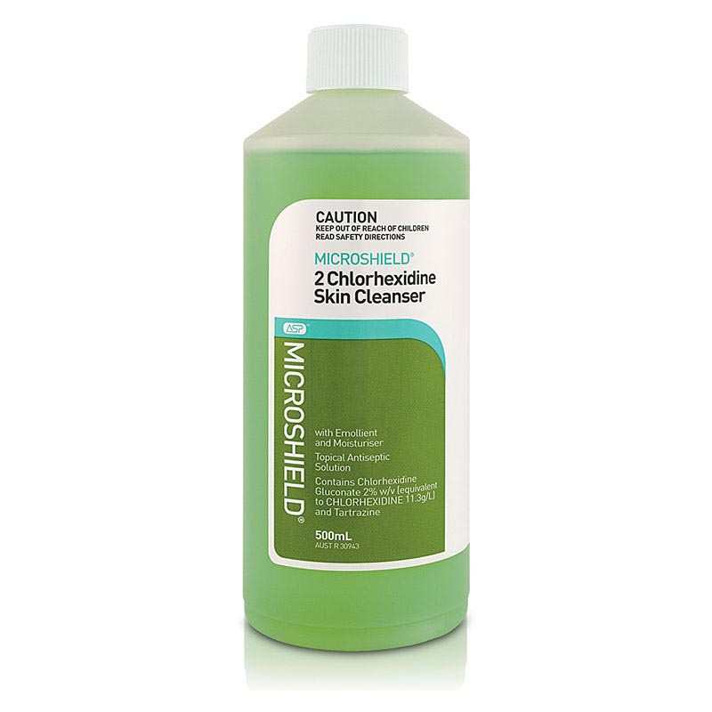 Shulke Microshield Chlorhexidine 2% Skin Cleanser