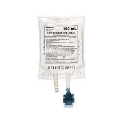 Baxter Sodium Chloride (Saline) 0.9% IV 100ml