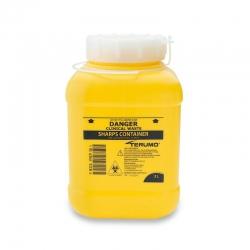 Terumo Sharps Container Bin Screw Lid 3L