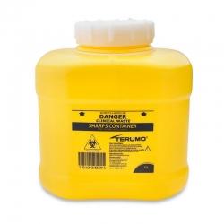 Terumo Sharps Container Bin Screw Lid 6L