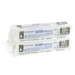 Terumo Agani Hypodermic Needle Regular Wall 22G x 38mm