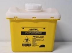 Terumo Sharps Container Bin Screw Lid 11L