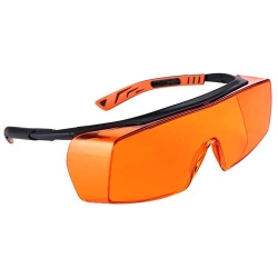 Univet Protect Eyewear Overspecs Amber 517-2 - Click for more info