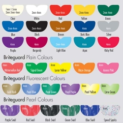 Briteguard Mouthguard Square Clear 1mm