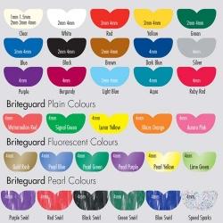 Briteguard Mouthguard Square Fluoro Aurora Pink 4mm