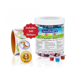 Caredent Kids Prophy Paste Assorted Uni-Dose - Click for more info
