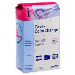Cavex ColorChange Alginate Fast Set 500g