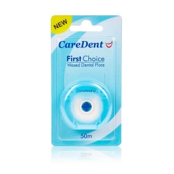 CareDent First Choice Nylon Floss Regular 50m