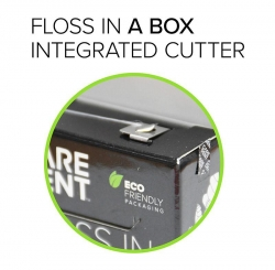 Caredent Floss In A Box Nylon Floss 100m