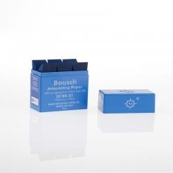 Bausch Articulating Paper w/Dispenser box Blue 200u BK 01