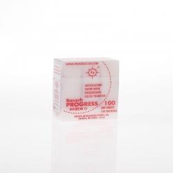Bausch Articulating Paper w/Dispenser box Red 100u BK 52