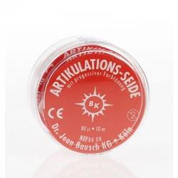 Bausch Articulating Silk 80 mm wide Red 80u BK 06