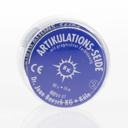 Bausch Articulating Silk 16 mm wide Blue 80u BK 07