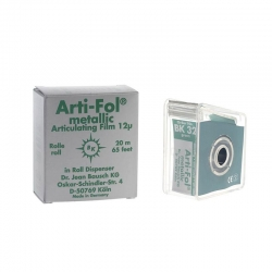 Bausch Arti-Fol Metallic w/Dispenser 1/S 22 mm Green 12u BK32