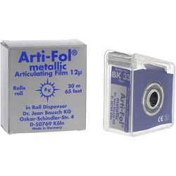 Bausch Arti-Fol Metallic w/Dispenser 1/S 22 mm Blue 12u BK33