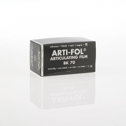 Bausch Arti-Fol Plastic in cardboard-box 1/S 75 mm Black 8u BK70