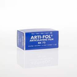 Bausch Arti-Fol Plastic in cardboard-box 1/S 75 mm Blue 8u BK73