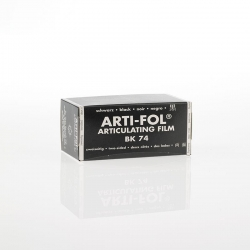 Bausch Arti-Fol Plastic in cardboard-box 2/S 75 mm Black 8u BK74