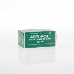Bausch Arti-Fol Plastic in cardboard-box 2/S 75 mm Green 8u BK76