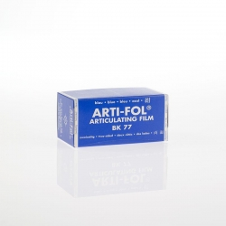 Bausch Arti-Fol Plastic in cardboard-box 2/S 75 mm Blue 8u BK77