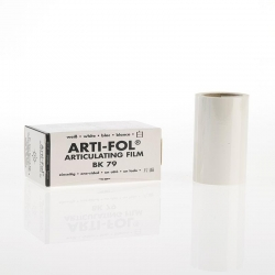 Bausch Arti-Fol Plastic in cardboard-box 1/S 75 mm White 8u BK79