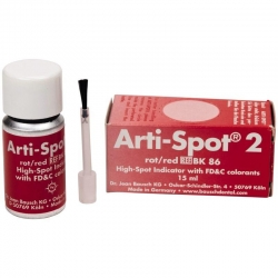 Bausch Arti-Spot 2 for ceramics Red 3u BK 86