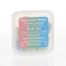 Bausch Fleximeter-Strips 10/15/ 20 mm - 5 pieces each Assorted  BK 253
