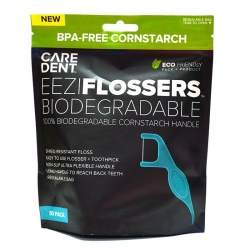 Caredent EeziFlossers Biodegradable UHMPE 50 - Click for more info