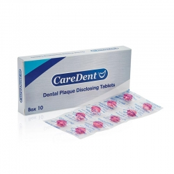 Caredent Disclosing Tablets Retail (20x10)