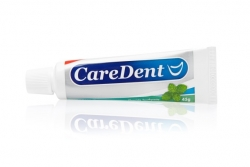 Caredent Spearmint Fluoride Toothpaste 45g