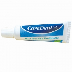 CareDent Mint Fluoride Toothpaste 24g