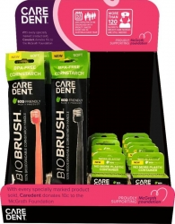 Caredent McGrath Display Stand (Free Promo Only)