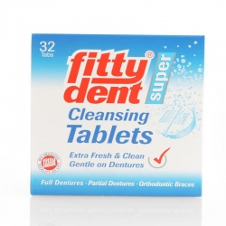 Fitty Dent Cleansing Tablets