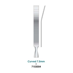Ongard Lite-Touch Implant Graduated  Scalpels Curved #7.5mm