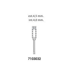 Ongard Lite-Touch Implant Trephine Bur 15mm High#4.0mm