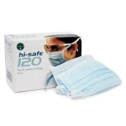 Ongard HiSafe L2 Masks Tie-On Antifog Blue