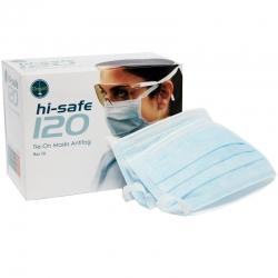 Ongard HiSafe 120 Masks Earloop Antifog Blue