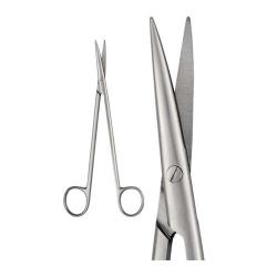 Ongard Lite-Touch Scissors DE Bakey Curved #18cm