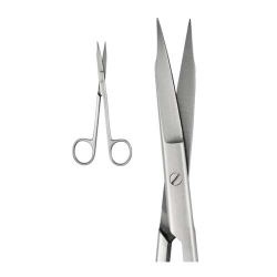 Ongard Lite-Touch Scissors Goldman-Fox Curved #13cm