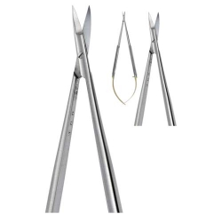 Ongard Lite-Touch Microsurgery Micro Suture Scissors #18cm