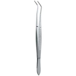 Ongard Lite-Touch Tweezers  Meriam #16cm